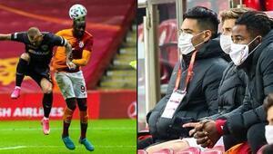 Galatasaray'da Kerem ışık verdi, Falcao ve Diagne topun ağzında