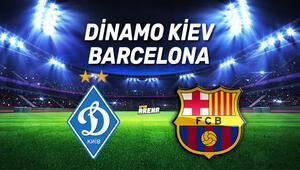 Dinamo Kiev Barcelona maçı saat kaçta hangi kanaldan canlı yayınlanacak
