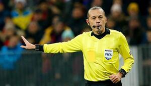 Borussia Mönchengladbach-Shakhtar Donetsk maçı Cüneyt Çakırın
