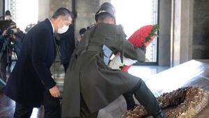 Milli Eğitim Bakanı Selçuk, öğretmenlerle Anıtkabiri ziyaret etti