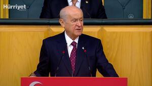 MHP lideri Bahçeli, partisinin grup toplantısında konuştu