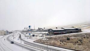 Türkiyenin kış turizm merkezleri beyaza büründü