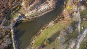 Tekirdağın göllerinde sonbahar büyülüyor