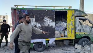 Son dakika... El Babda bomba yüklü araç patladı