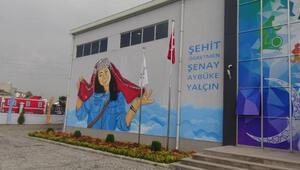 Şehit Aybüke öğretmenin ismi, kadın ve çocuk spor merkezine verildi