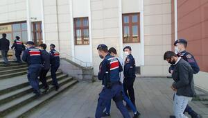 Motosiklet hırsızları jandarma ekiplerinin titiz çalışması sonucu yakalandı