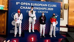 Kadın Tekvando Milli Takımından Avrupa Kulüpler Şampiyonasında 5 madalya