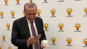 Cumhurbaşkanı Erdoğan, Ayda bebek ile görüştü Sizi çok seviyoruz