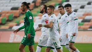Bursaspor: 1 - Karatay Termal 1922 Konyaspor: 0