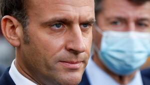 Macron, Kovid-19 salgınıyla mücadele planını açıkladı