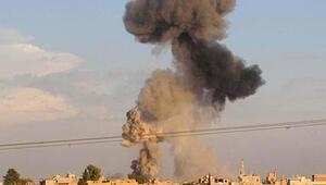 Esed rejiminden İsrailin Şama hava saldırısı düzenlediği iddiası