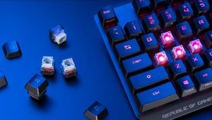 Asus, RX Optik Mekanik anahtarlı klavyesini duyurdu
