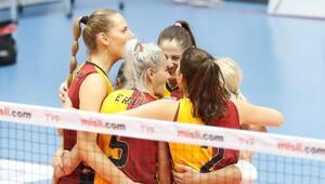 Galatasaray Kadın Voleybol Takımının konuğu Khimik