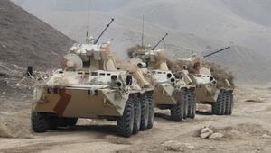 Rusya-Tacikistan ortak askeri tatbikatı başladı