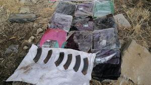 Vanda PKK operasyonunda ele geçirildi Sıvı halde 30 kilo...