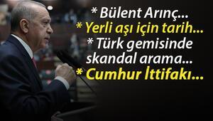 Son dakika haberi: Cumhurbaşkanı Erdoğandan Bülent Arınç, koronavirüs aşısı ve gündeme dair açıklamalar