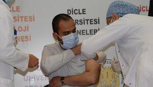 Çinin koronavirüs aşısı Diyarbakırda gönüllüler üzerinde uygulandı