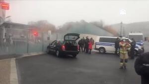 Son dakika: Almanyada Başbakanlık binasına araçla saldırı girişimi