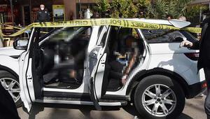 Antalyada lüks cipte infaz... 3 ölü