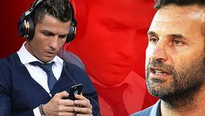 Son Dakika | Başakşehir maçından sonra İngilterede olay Okan Buruktan sonra Cristiano Ronaldo...