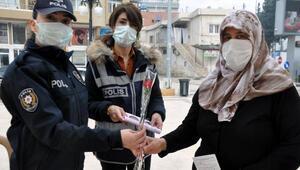 Kadına şiddetle mücadelede kadınlar bilgilendirildi