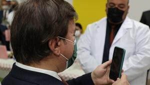 Aksaray Valisi Aydoğdudan sürpriz telefon: Gözyaşlarını tutamadı