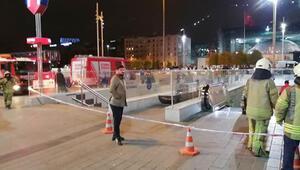 Son dakika haberi... Taksim Metro İstasyonu intihar girişim nedeniyle kapatıldı
