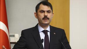 Bakan Kurum müjdeyi verdi: İzmirde 5 bin konutun projesi hazır