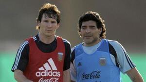 Son Dakika Haberi | Lionel Messiden Diego Armando Maradonaya duygusal veda