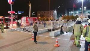 Taksim Metro İstasyonunda raylara atlayan kişi öldü