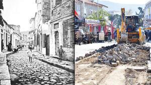 Foça'nın kara taşlarını bakanlık kurtardı