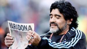 TFFden Maradona için taziye mesajı