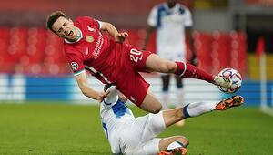 Şampiyonlar Liginde Bayern Münih turladı, Liverpool evinde kaybetti