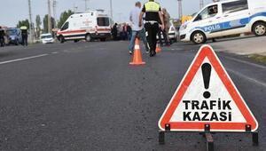 Amasyada iki otomobil çarpıştı: 2 yaralı