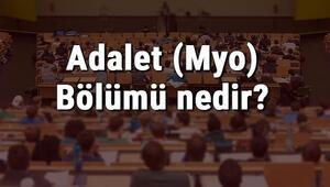 Adalet (Myo) Bölümü nedir ve mezunu ne iş yapar Bölümü olan üniversiteler, dersleri ve iş imkanları