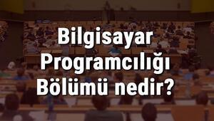 Bilgisayar Programcılığı Bölümü nedir ve mezunu ne iş yapar Bölümü olan üniversiteler, dersleri ve iş imkanları