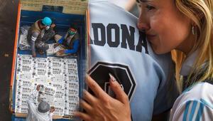 Son dakika haberi: Arjantin Maradonaya ağlıyor Dünyanın konuştuğu fotoğraflar...