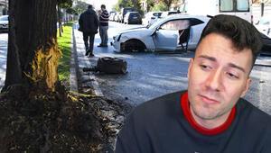 Son dakika haberler: Enes Batur geçirdiği trafik kazasınının ardından o anları anlattı: Takla attığımda ölecek miyim diye düşündüm
