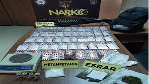 Malatyada uyuşturucu operasyonu: 12 gözaltı