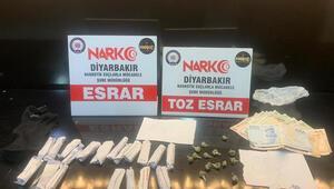 Diyarbakırdaki uyuşturucu operasyonlarında 19 tutuklama
