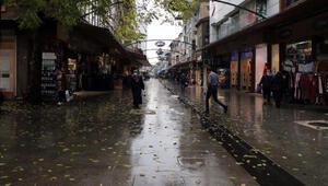 Vakaların arttığı Gaziantepte, yağışlar sakinlik getirdi