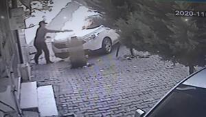 Esenyurtta otomobili kundaklayan kişi yakalandı
