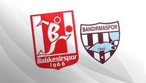 Balıkesirde derbi heyecanı TFF 1. Lig Bandırmasporun konuğu Balıkesirspor...
