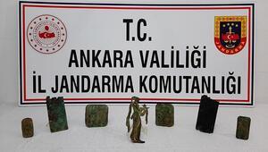 Başkent'te tarihi eser kaçakçılığı operasyonu