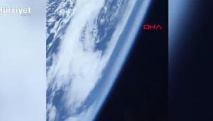NASA astronotu uzaydan ilk videosunu paylaştı