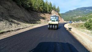 Melikler Köprüsü yolu asfaltlanıyor