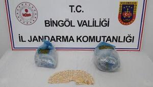Bingölde sahte para ve uyuşturucuyla yakalanan şüpheliler tutuklandı