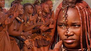 Güzellik anlayışları şoke ediyor Namibyanın kabile kadınları...
