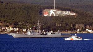 Mısır savaş gemileri, Çanakkale Boğazından geçti