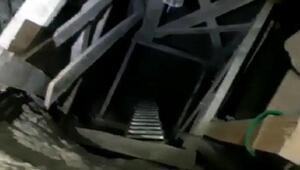 Evin salonunda 12 metre tünel kazmışlar Yakalandılar